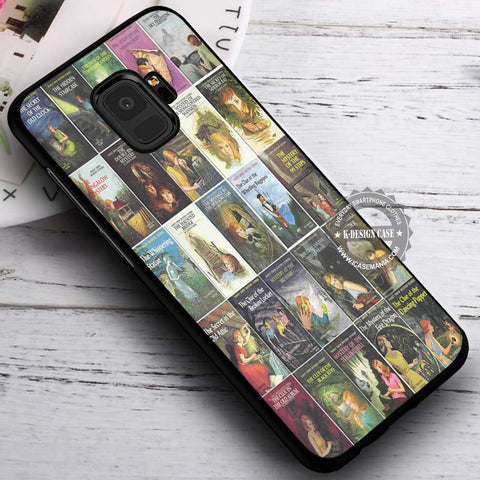 All Books Nancy Drew - Samsung Galaxy S8 S7 S6 Note 8 Cases & Covers #SamsungS9