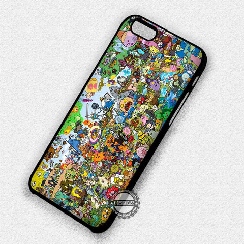 All Characters Adventure Time - iPhone 7 6 Plus 5c 5s SE Cases & Covers - samsungiphonecases