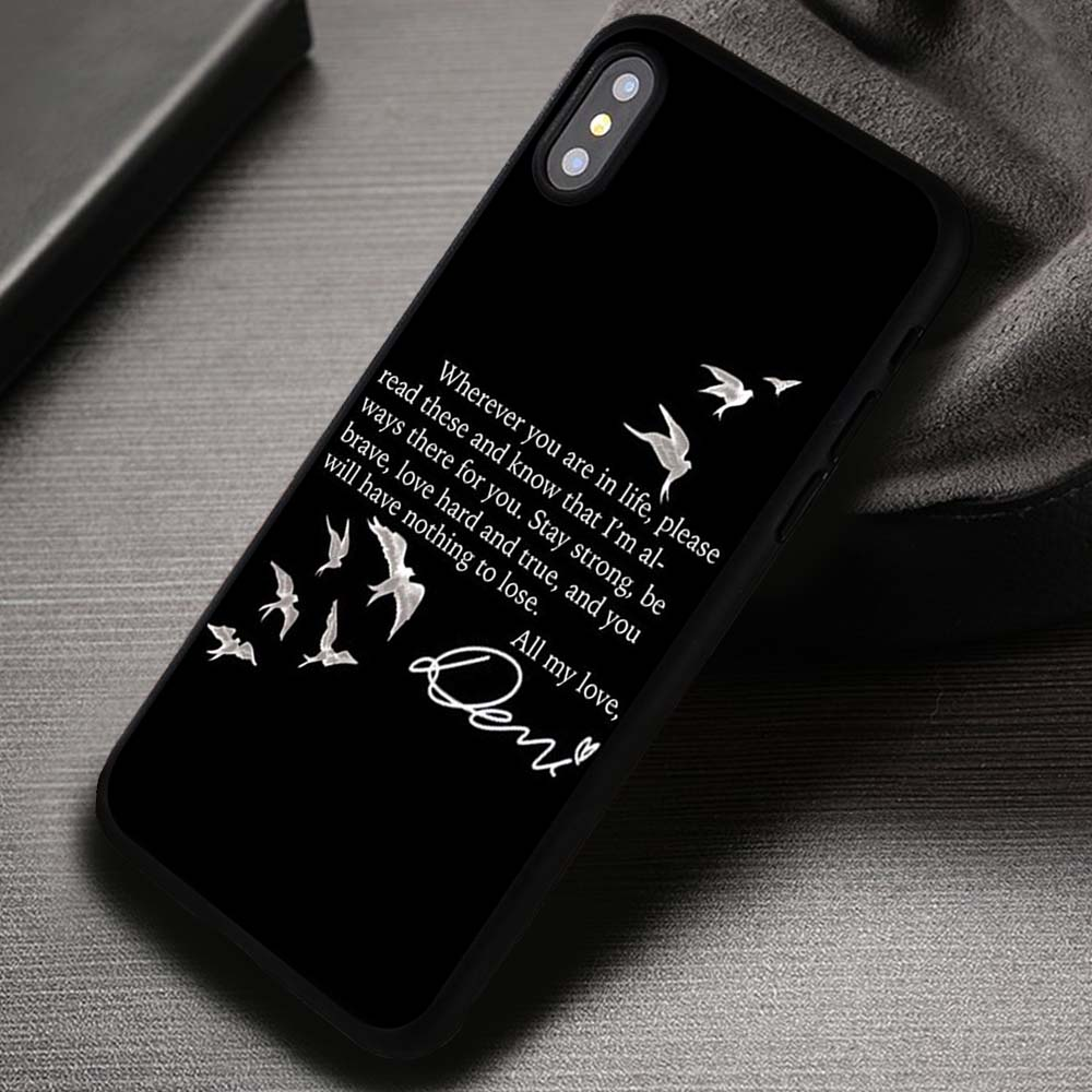 low priced 9c7a3 eb391 All My Love Demi Lovato Frozen Quote Lyric Ariana Grande - iPhone X 8+ 7 6s  SE Cases & Covers #iPhoneX