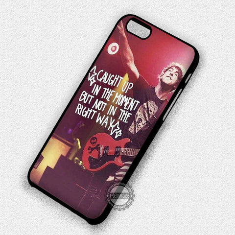 Alex Gaskarth Quote Band - iPhone 7 Plus 6 5C SE Cases & Covers - samsungiphonecases