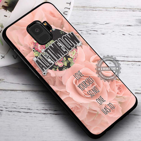 All Time Low Love Yourself Quote - Samsung Galaxy S8 S7 S6 Note 8 Cases & Covers #SamsungS9