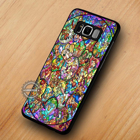 All Character Stained Glass Disney - Samsung Galaxy S8 Case