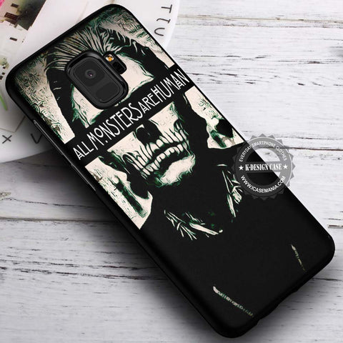 All Monsters Are Human - Samsung Galaxy S8 S7 S6 Note 8 Cases & Covers #SamsungS9