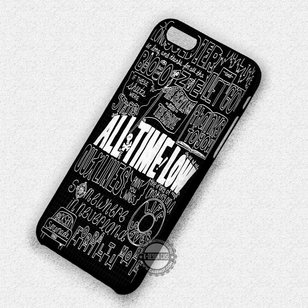 Songs Title Quote Art - iPhone 7 6S 5s SE 4 Cases & Covers