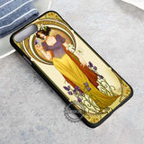 Alphonse Mucha Inspired Snow White Disneyland - iPhone 8+ Case