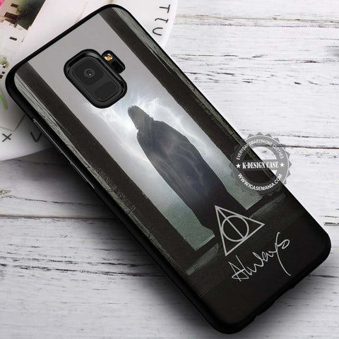 Always Severus Snape Harry Potter - Samsung Galaxy S8 S7 S6 Note 8 Cases & Covers #SamsungS9