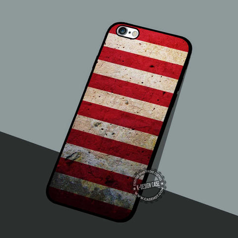 American Flag Stone - iPhone 7 6 5 SE Cases & Covers