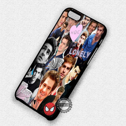 Andrew Garfield Collage - iPhone 7 6 Plus 5c 5s SE Cases & Covers
