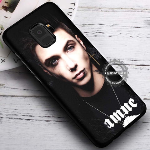 Andy Biersack Black Veil Brides - Samsung Galaxy S8 S7 S6 Note 8 Cases & Covers #SamsungS9