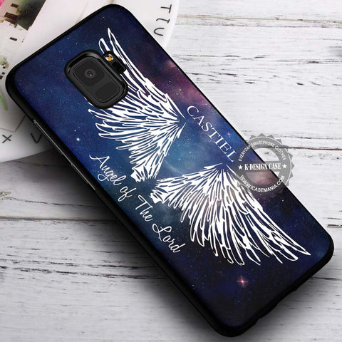 Angel of The Lord Castiel - Samsung Galaxy S8 S7 S6 Note 8 Cases & Covers #SamsungS9