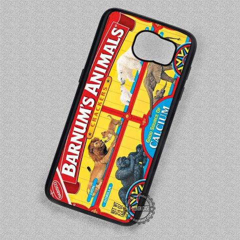 Animal Cracker Vintage Box Retro - Samsung Galaxy S7 S6 S5 Note 4 Cases & Covers