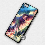 Attack On Titan Fight With Colossal - iPhone 7 Plus 7 6S  SE Cases & Covers