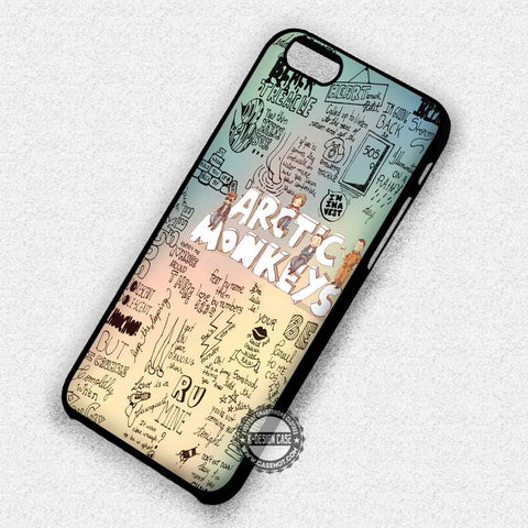 Arctic Monkeys Collage Art - iPhone 7 6 Plus 5c 5s SE Cases & Covers