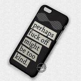 Arctic Monkeys Lyrics - iPhone 7 6 5 SE Cases & Covers