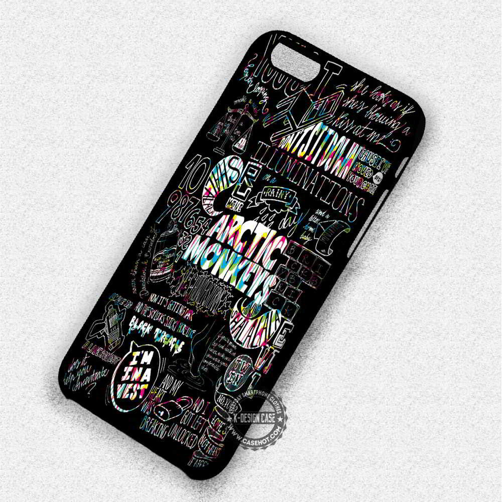 new product c470e 43a47 Arctic Monkeys Suck It And See Lyrics Compilation - iPhone 7 6 5 SE Cases &  Covers