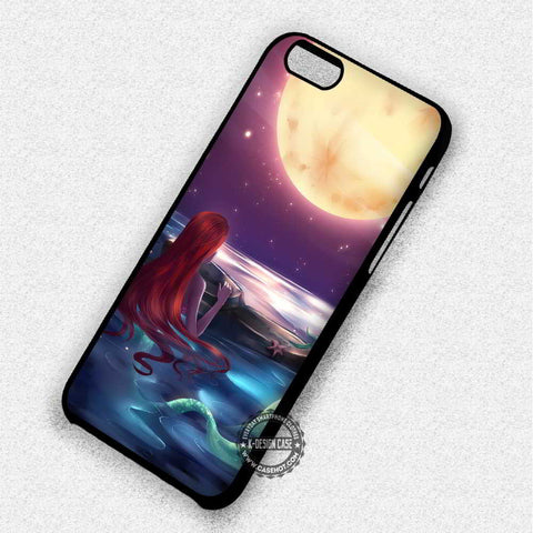 Ariel Moon The Little Mermaid - iPhone X 8+ 7 6s SE Cases & Covers
