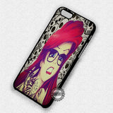 Ariel Punk Hipster - iPhone 7 6 Plus 5c 5s SE Cases & Covers