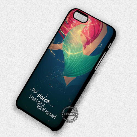 Ariel The Little Mermaid Quotes - iPhone 7 6 5 SE Cases & Covers