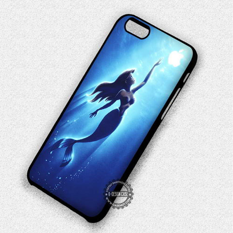 Ariel The Little Mermaid Reaching For An Apple - iPhone 7 6 5 SE Cases & Covers