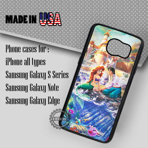 Ariel Thomas Kinkade Painting - Samsung Galaxy S7 S6 S5 Note 5 Cases & Covers