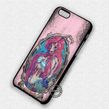 Little Mermaid Zombie - iPhone X 8+ 7 6s SE Cases & Covers