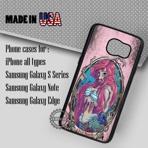 Little Mermaid Zombie - Samsung Galaxy S8 S7 S6 Note 8 Cases & Covers