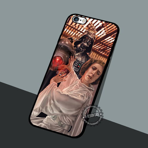Art Princes Leia - iPhone 7 6 5 SE Cases & Covers