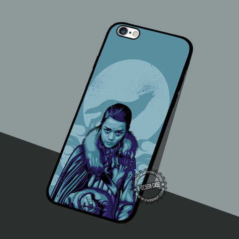 Arya Stark House - iPhone 7 6 5 SE Cases & Covers