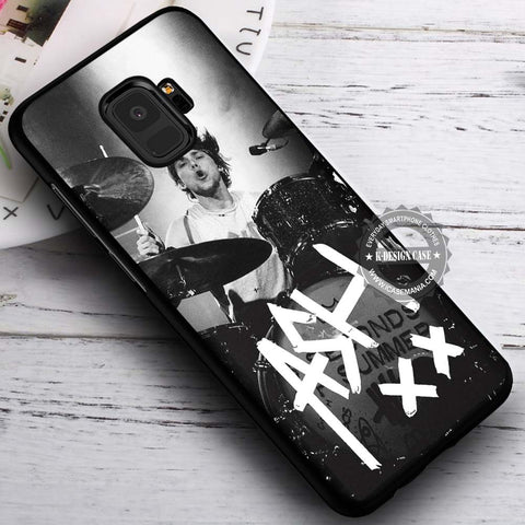 Ashton Irwin Signature 5SOS - Samsung Galaxy S8 S7 S6 Note 8 Cases & Covers #SamsungS9