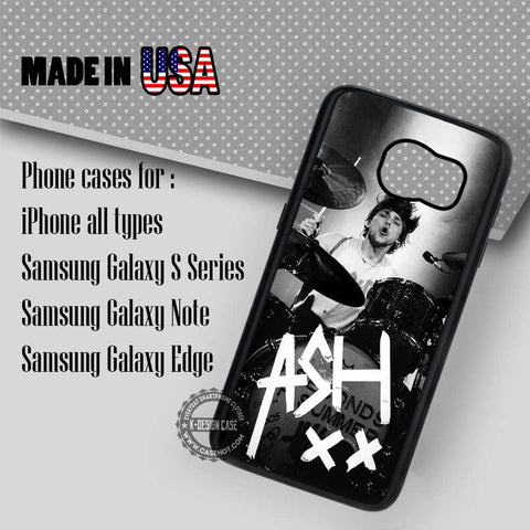 Sign Ashton Irwin- Samsung Galaxy S7 S6 S5 Note 5 Cases & Covers