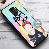 Ashton Irwin in Pastel 5 Seconds of Summer - Samsung Galaxy S8 S7 S6 Note 8 Cases & Covers #SamsungS9