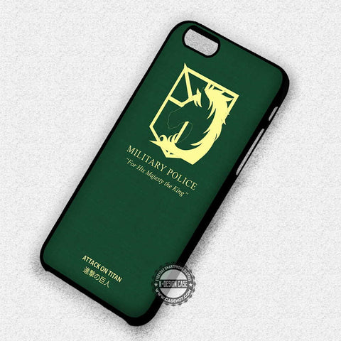 Attack On Titan Military Police - iPhone 7 Plus 7 6S  SE Cases & Covers