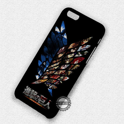 Attack On Titan Anime - iPhone 7 Plus 7 6S  SE Cases & Covers