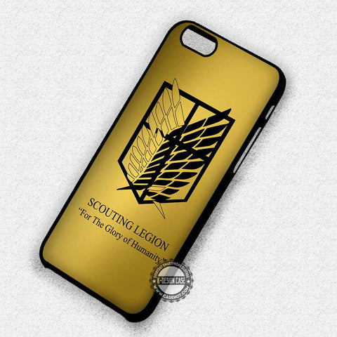 Attack On Titan Scouting - iPhone 7 6 Plus 5c 5s SE Cases & Covers