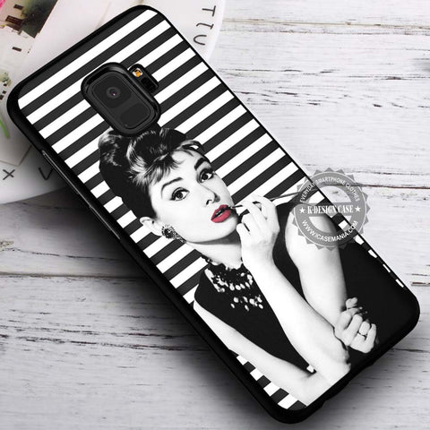 Audrey Hepburn Breakfast At Tiffany's - Samsung Galaxy S8 S7 S6 Note 8 Cases & Covers #SamsungS9