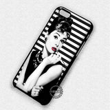 Audrey Hepburn Breakfast At Tiffany's - iPhone 8+ 7 6s SE Cases & Covers