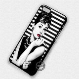 Audrey Hepburn Style - iPhone 7 6 Plus 5c 5s SE Cases & Covers