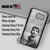 Audrey Hepburn Beauty Quotes - Samsung Galaxy S7 S6 S5 Note 5 Cases & Covers