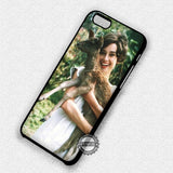 With Deer Her Pet - iPhone 7 6 Plus 5c 5s SE Cases & Covers