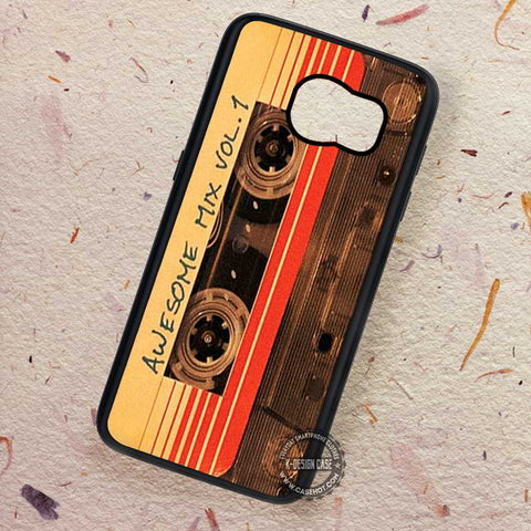 Awesome Mix Vol 1 Guardian of The Galaxy - Samsung Galaxy S7 S6 S5 Note 7 Cases & Covers
