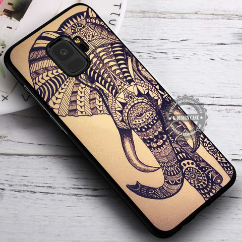 Aztec Elepanth Vintage - Samsung Galaxy S8 S7 S6 Note 8 Cases & Covers #SamsungS9