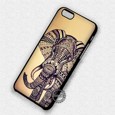 Aztec Elepanth Vintage - iPhone 7 6 Plus 5c 5s SE Cases & Covers