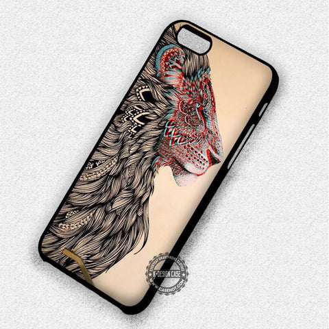 Aztec Lion Tribal - iPhone 7 6 6s 5c 5s SE Cases & Covers