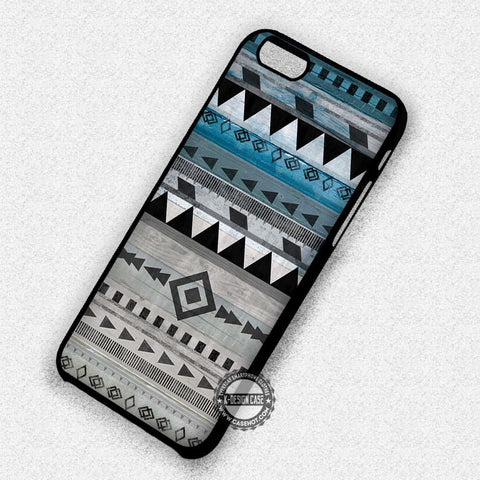 Pattern Wood Print - iPhone 7 6S SE 4 Cases & Covers