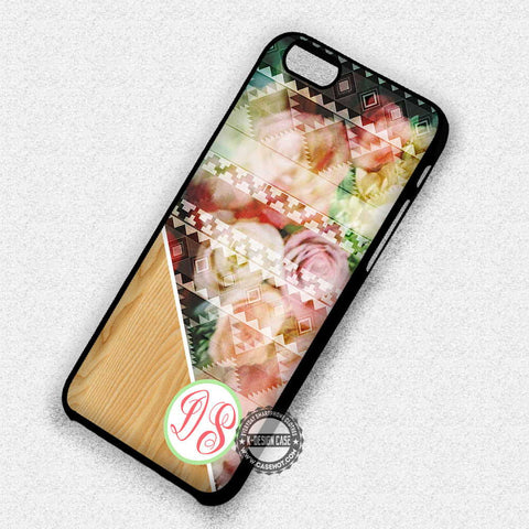 Pattern With Flower - iPhone 7 6S SE 4 Cases & Covers