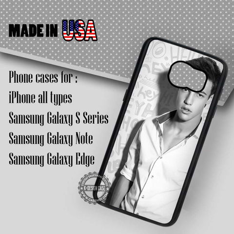 Dallas Black & White  - Samsung Galaxy S7 S6 S5 Note 5 Cases & Covers