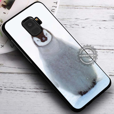Baby Penguin Ice - Samsung Galaxy S8 S7 S6 Note 8 Cases & Covers #SamsungS9