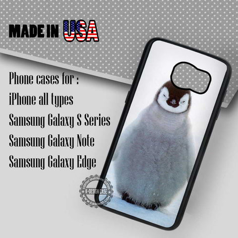 Baby Penguin Ice - Samsung Galaxy S7 S6 S5 Note 5 Cases & Covers