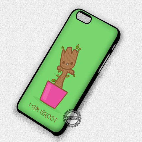 Baby Groot Cute Art - iPhone 7 6S SE 4 Cases & Covers