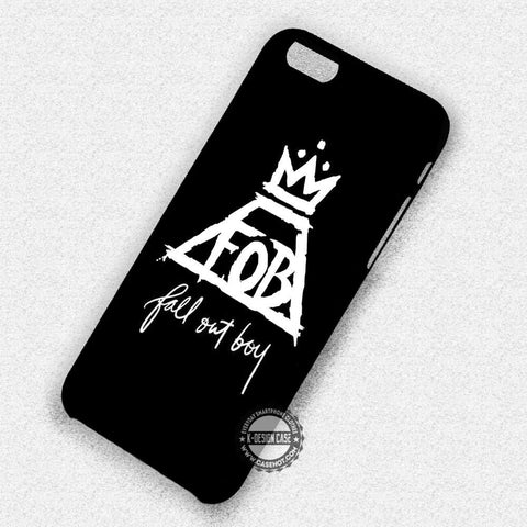 Band Logo Fall Out Boy - iPhone 8+ 7 6s SE Cases & Covers